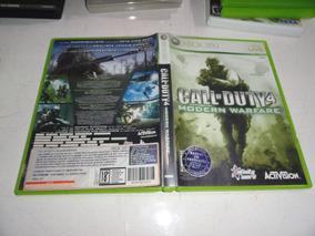 Call Of Duty 4 Xbox 360 Midia Fisica Original Brasil