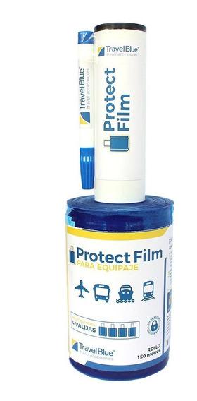 Film Protector Para Valijas Travel Blue, Protege 4 Valijas