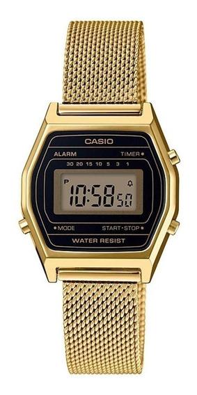 Relógio Casio Vintage Unissex La690wemy1df Original