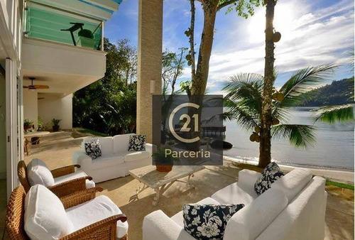 Permutas, Angra Dos Reis Condomínios 3 Casas ,mansão Cinematográfica R$ 20.000.000 - Vl0002