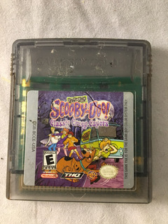 Nintendo Gameboy Color Scooby Doo Classic Creep Capers Gba