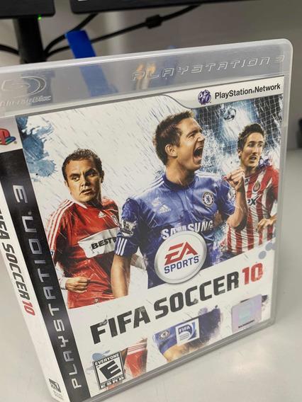 Jogo Fifa 10 Ps3 Mídia Física Lampard Chelsea