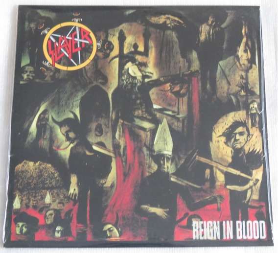 Slayer Reign In Blood Lp Importado Selado Made In U S A 2013