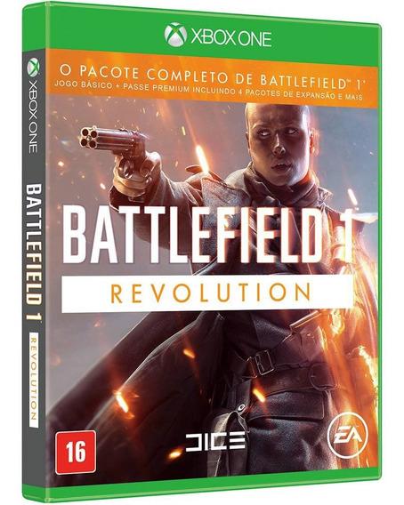 Battlefield 1 Bf1 Xbox One Disco Fisico Cd Lacrado Português