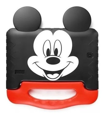 Tablet Kid Pad Infantil Do Mickey Mouse Capa Emborrachada Ta