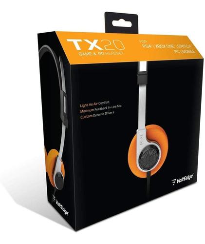 Audífonos Tx-20 Universal Voltedge ( Garantía De Por Vida )
