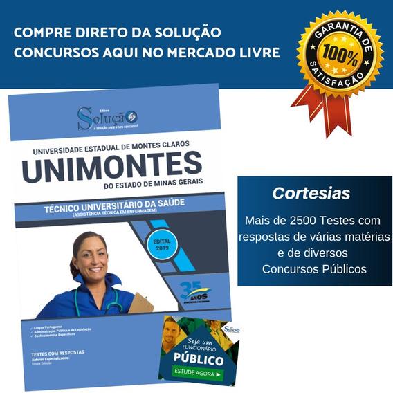 Apostila Unimontes Técnico Universitário Da Saúde Enfermagem