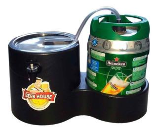 Chopeira Magic Beer Barril 5l Heineken Kaiser Chopp Cerveja