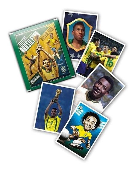 44 Figurinhas Álbum Seleção Brasileira-rússia 2018 S/ Repet