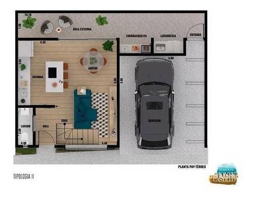 Casa Com 2 Dormitórios À Venda, 101 M² Por R$ 380.000,00 - Jardim Quisisana - Poços De Caldas/mg - Ca0357