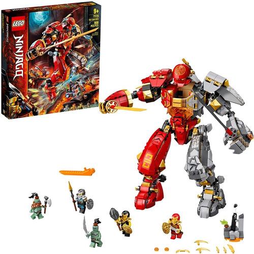 Lego Ninjago 71720 Piedra De Fuego 968 Pzs