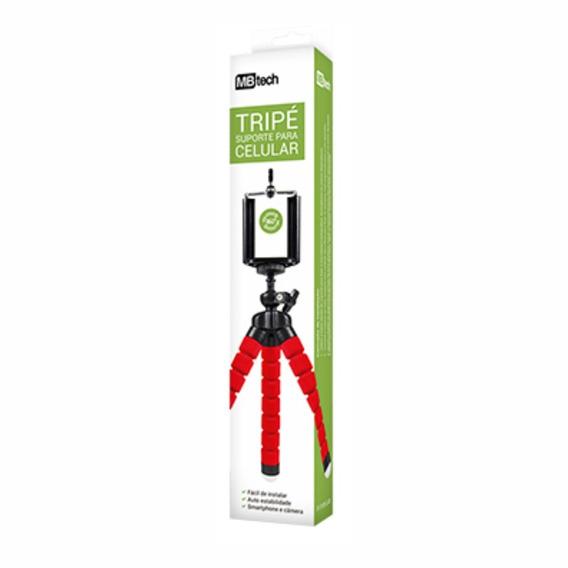 Mini Suporte Tripe Camera Borracha Prático Flexível Articula