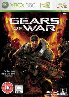 Gears Of War 1 Solo Xbox 360 No Pagar Envío Recibe Al Instan