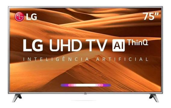 Smart Tv Led 75 LG 75um7510 Ultra Hd 4k Hdr Ativo Dts