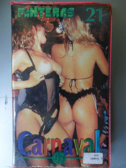 Filmes Pornôs Anos 80,90,2000 Vhs ` As Panteras Carnaval 9 7