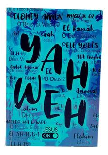 Bíblia Jesus On Lettering Yahweh Capa Dura Letra Grande