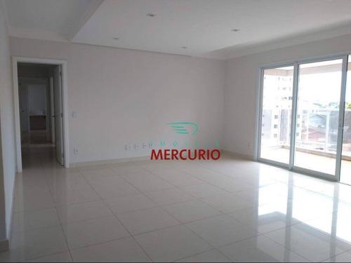 Apartamento Com 4 Dormitórios, 200 M² - Venda Por R$ 1.250.000,00 Ou Aluguel Por R$ 4.300,00/mês - Jardim América - Bauru/sp - Ap2932