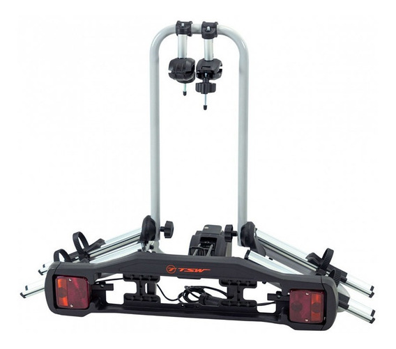 Transbike Reboque Rebatível Tsw Engate Suporta 30kg 2 Bikes