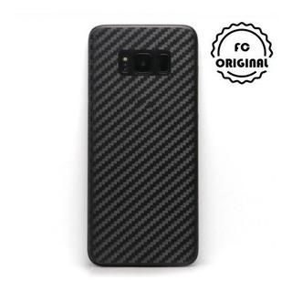 Película Traseira Fibra Carbono Galaxy S8