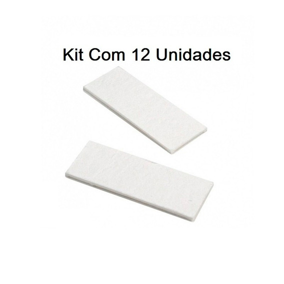 Kit Com 12 Pastilhas Anti Embaçantes Anti-fog Gopro 5 6 7