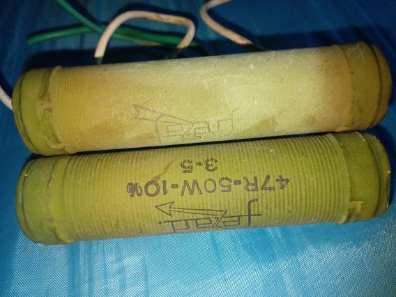Resistor Fio 50w 47r 10% 3-5