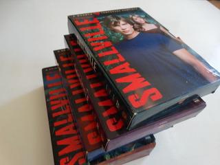 Box Coleção Dvd 1ª A 4ª Temporadas Smallville - Originais