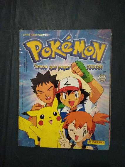 Álbum Figurinhas Pokémon Temos Que Pegar - Panini 2000