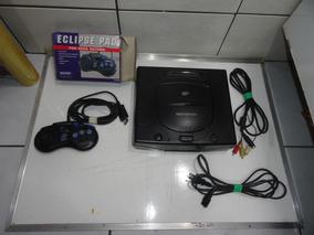 Sega Saturn Console Destravado Modchip Completo Coleção C01