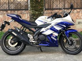 Yamaha R15 2015 Blanca-azul