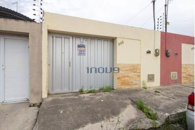 Casa Com 2 Dormitórios Para Alugar, 64 M² Por R$ 650/mês - Piratininga - Maracanaú/ce - Ca0543