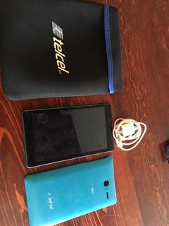 Tablet +funda, Estuche Y Cargador