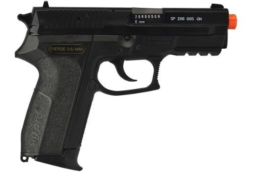 Pistola Airsoft Spring / Mola Sig Sauer Sp2022, + Barata
