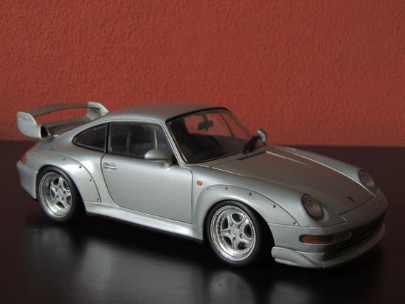 Miniatura Porsche 911 Series Prata 1:18 Ut Model