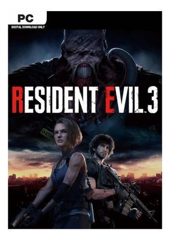 Imagen 1 de 4 de Resident Evil 3 Remake Capcom PC Digital