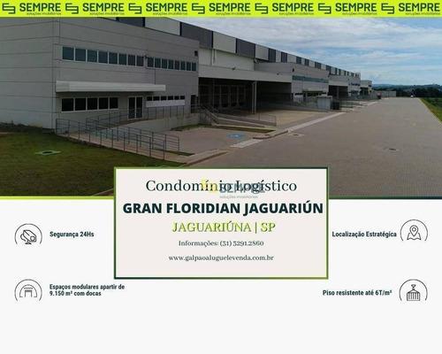 Imagem 1 de 15 de Galpão Para Alugar Em Jaguariúna/sp - Ga1077