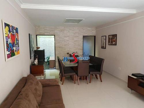 Sobrado Com 3 Dormitórios À Venda, 196 M² Por R$ 780.000 - Vila Formosa - São Paulo/sp - So1592