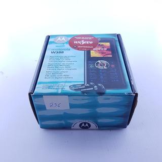 Celular Motorola W388 Funcionando + Caixa Original