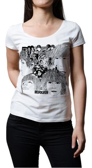 Remera Mujer Rock The Beatles Revolver | B-side Tees