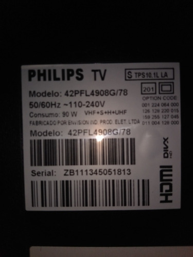 Tv Philips 42  3d