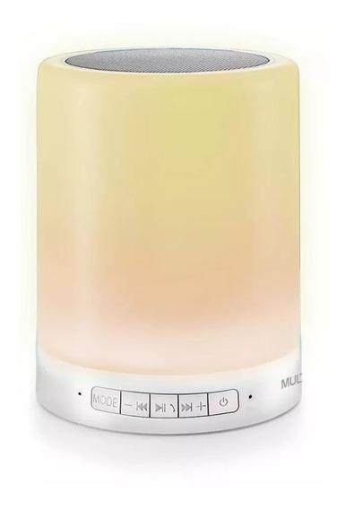 Caixa De Som Led Light 10w Touch Bluetooth Multilaser Sp287