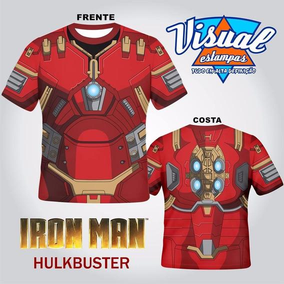 Camiseta Iron Man Homem De Ferro Armadura Hulkbuster 3d