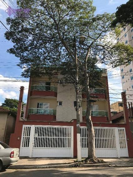 Cobertura Com 2 Dormitórios À Venda, 65 M² Por R$ 393.000,00 - Vila Alzira - Santo André/sp - Co0173