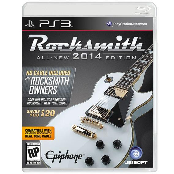 Jogo Rocksmith 2014 - Cabo Não Incluso - Para Playstation 3