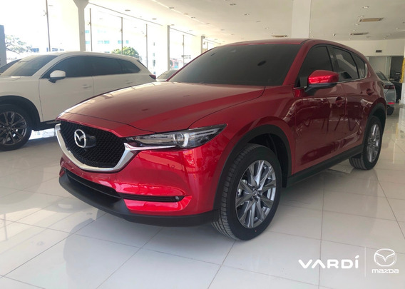 Mazda Cx-5 2.5 At 4x4 Grand Touring Lx 2021 Rojo Diamante