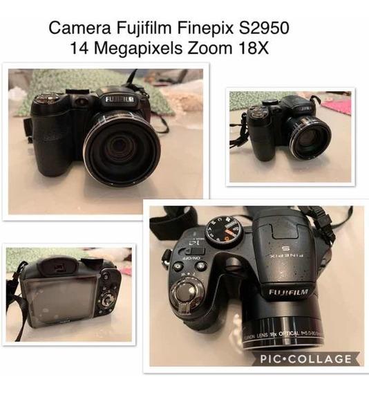 Câmera Semi-profissional Fujifilm Finepix S2950 14 Mp/18x