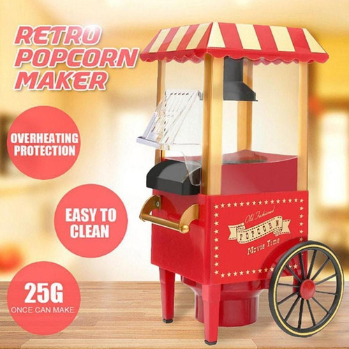 Maquina Para Hacer Canchita Pop Corn Maker Con Ruedas