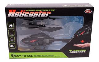 Helicóptero Dron Inteligente Sensorial Vuela Sube Y Baja