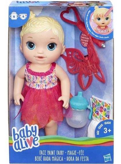 Brinquedo Boneca Hasbro Baby Alive Hora Da Festa Loira B9725