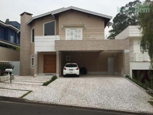 Casa Com 4 Dormitórios À Venda, 373 M² Por R$ 1.670.000,00 - Condomínio Ouro Verde - Valinhos/sp - Ca0305