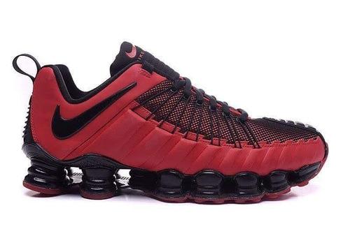 a8ad90e05d052 Nike 12 Molas Vermelho Original - Tênis no Mercado Livre Brasil